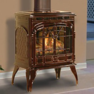 Quadra Fire Sapphire Freestanding Gas Fireplace