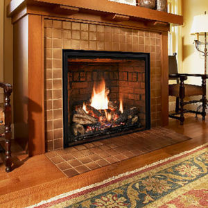 Mendota Full View Zero Clearance Gas Fireplace