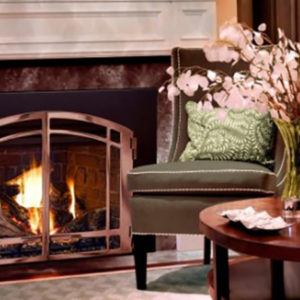 All Mendota Door sets extend over the entire fireplace, granting you the largest possible view. Learn More!