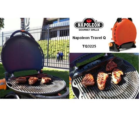 Napoleon Portable Gas Barbecue Grill. NW Natural Portland Oregon