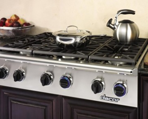Dacor Discovery 36 Gas Cooktop Nw Natural Appliance Center