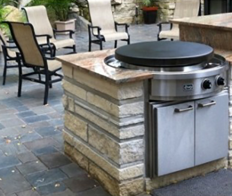 evo flat top gas grill - nw natural appliance center
