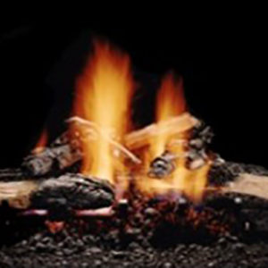 The Hargrove Inferno Gas Logs allow tremendous flame visibility with a look of a wood fire that's been burning for awhile. Learn More!