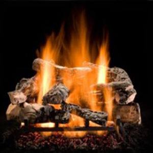 Our Hargrove Rustic Timber Gas Fireplace Logs come in a mix of sizes, providing some of the most realistic views. Learn More Today!