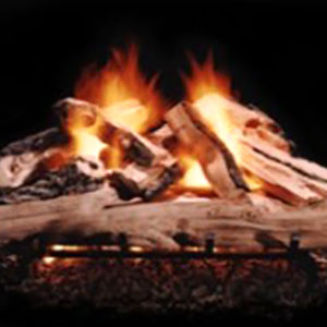 The Hargrove Western Pin Gas Logs are detailed from casts made of real pine trees, and have 9 sizes available. Learn More Today!