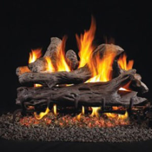 RH Peterson Driftwood Gas Logs