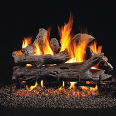 RH Peterson Driftwood Gas Logs