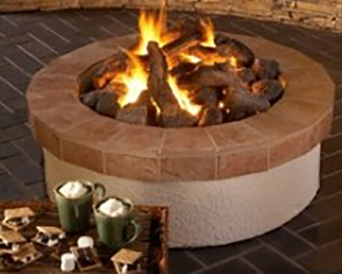 Outdoor Campfyre Gas Fire Pit Rh Peterson Outdoor Living