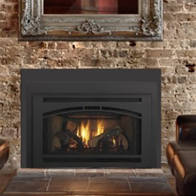 Quadra Fire Gas Fireplace Insert w/Affinity Front - NW Natural ...