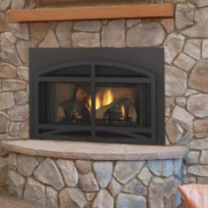 Heatilator Novus Evolution Zero Clearance Gas Fireplace NW