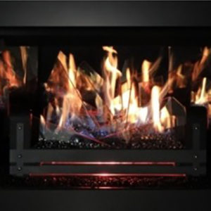 Stellar Hearth Glass Media Gas Logs transform your wood-burning fireplace with a glass bed of 'coals.' Learn More Today!