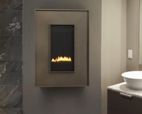 Get the shape & finish of your choice with our Hear & Glo REVO Zero Clearance Gas Fireplace. Learn More!