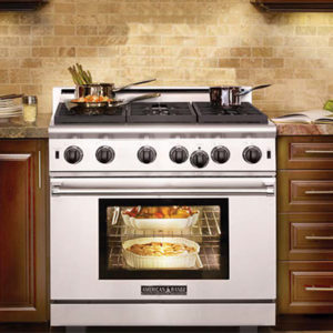 "American Range's 30"" Gas Range providse up to 6 Burners and more for the flexibility you need for your cooking needs. Learn More Today!"