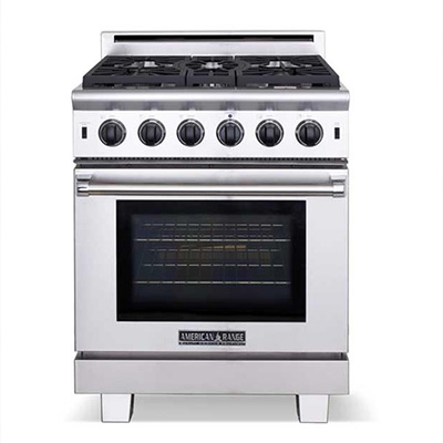 NW Natural Appliance Center's American Range line holds the Cuisine Series Gas Range for exceptional performance & easy cleanup. Learn More Today!