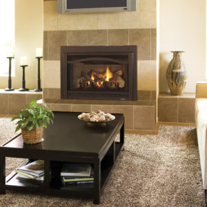 Heat & Glo Grand i35C Gas Fireplace Insert features the IntelliFire Plus ignition system to save energy when the fireplace is not in use. Order Today!