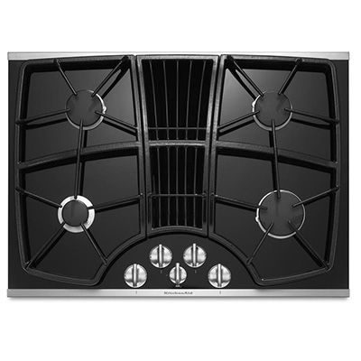 Kitchen Aid Downdraft Gas Cooktop | NW Natural Appliance Center