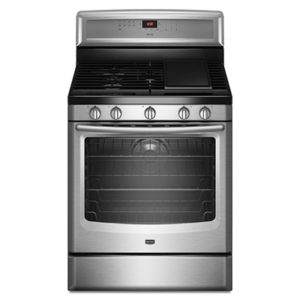 Whether cooking for 2, or for a large family, the Maytag Freestanding Gas Range is built for quality & versatility. Learn More Today!