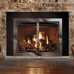 The Basix Front is especially designed for thse who want minimal visual interruption of their beautiful fire. Order Today!