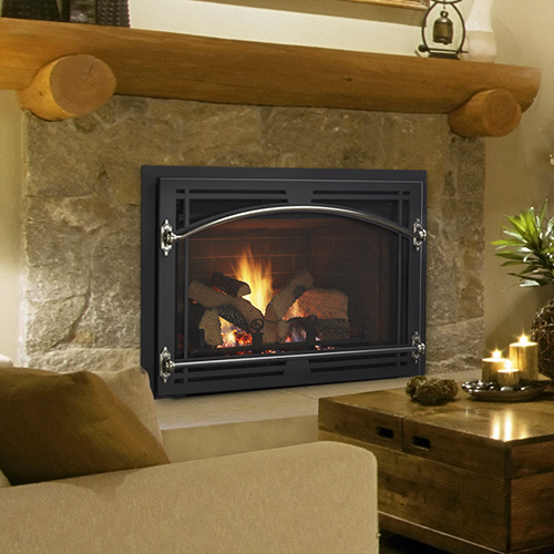 Quadra Fire Qfi35fbc Gas Fireplace Insert Nw Natural Appliance