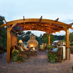 Outdoor Great Room Sonoma Pergola. Check out our Outdoor Living products at NW Natural Appliance Center in Portland