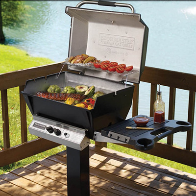 Broilmaster P3X Mounted Gas Grill Picture - NW Natural Appliance Center