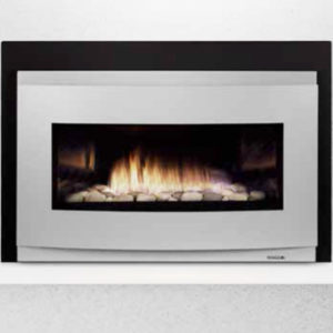 The Heat & Glo COSMO Gas Fireplace Insert use heat-radiating FireBrick material. Order Today!