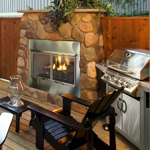 Heat Glo Gas Fireplace Outdoor Living Nw Natural Portland