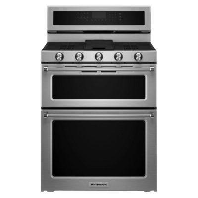 Kitchen Aid Double-Oven Range