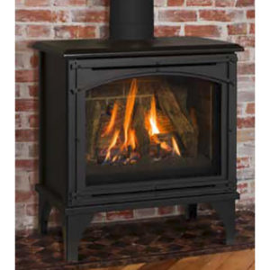 Image Of Kozy Heat Birchwood Free-Standing Gas Stove - NW Natural Appliance Center