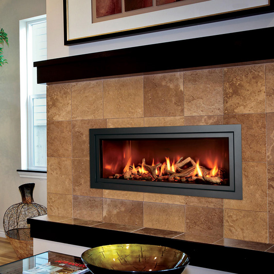 The Mendota ML47 Modern Gas Linear Fireplace gives you the
