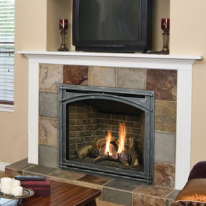 The Kozy Heat Bayport Gas Fireplace is a best seller, providing some of the most impressive viewing angles and realistic burner systems. Learn More!