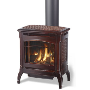 The Hearthstone Stowe 8323 Free-Standing Gas Stove strikes a harmonious balance between size & heat output. Order Today!