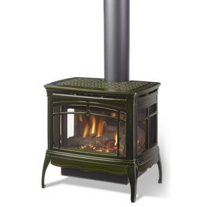 Heat Glo Tiara Ii Freestanding Gas Fireplace Nw Natural Appliance Center