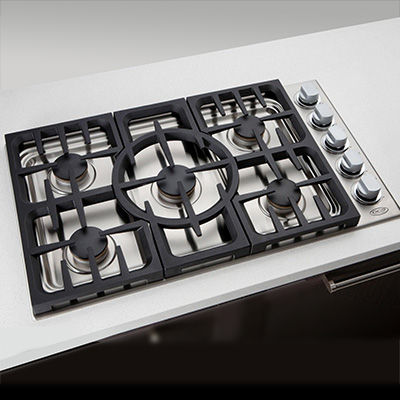 DCS 5 Burner Gas Cooktop