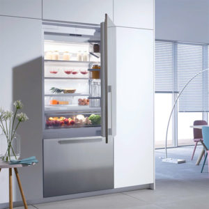 Miele Fully Integrated Refrigerator & Freezer. Learn more about our Kitchen Appliances at NW Natural of Portland, Oregon