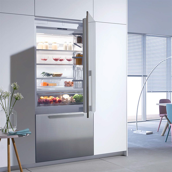 miele 36 fully integrated refrigerator freezer kf1903sf. Black Bedroom Furniture Sets. Home Design Ideas
