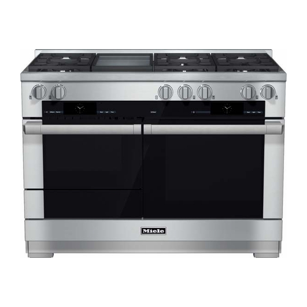 miele 48 dual fuel natural gas range hr1956df nw natural appliance center. Black Bedroom Furniture Sets. Home Design Ideas