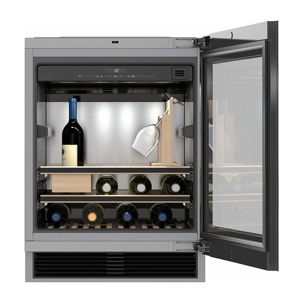 Miele 24 Quot Undercounter Wine Refrigerator Kwt6312ugs Nw