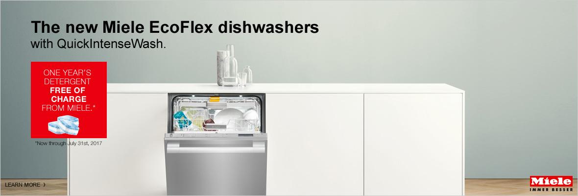 Miele EcoFlex dishwasher special
